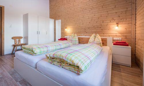 Chalet Zillertal Schlafzimmer