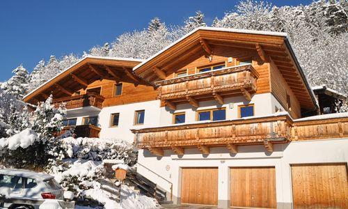 Chalet Schlossblick im Winter