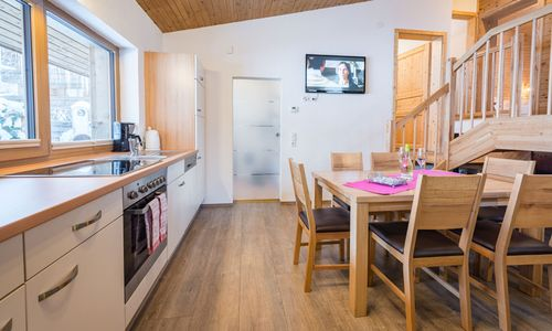 Chalet Zillertal Küche